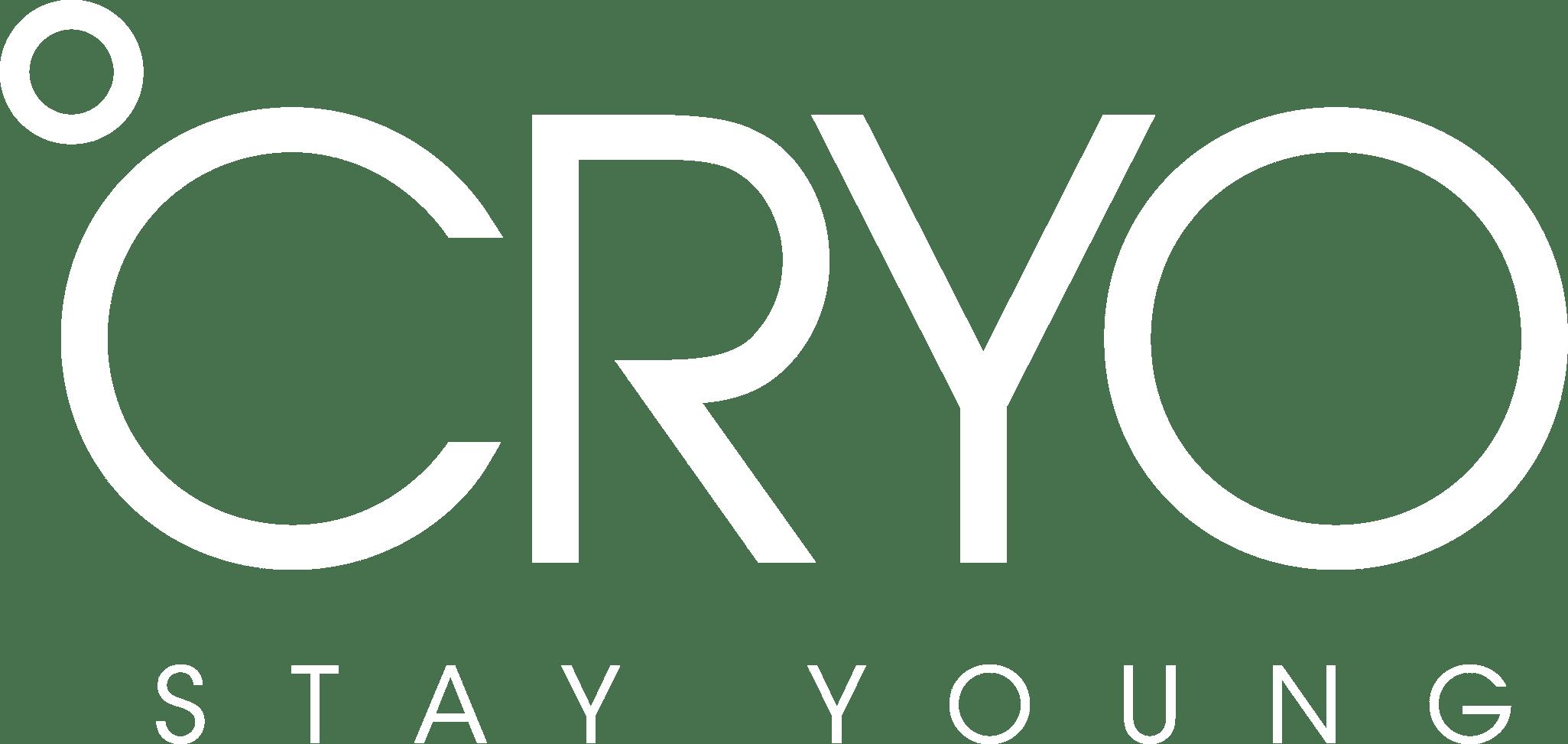 CRYO Logo white font