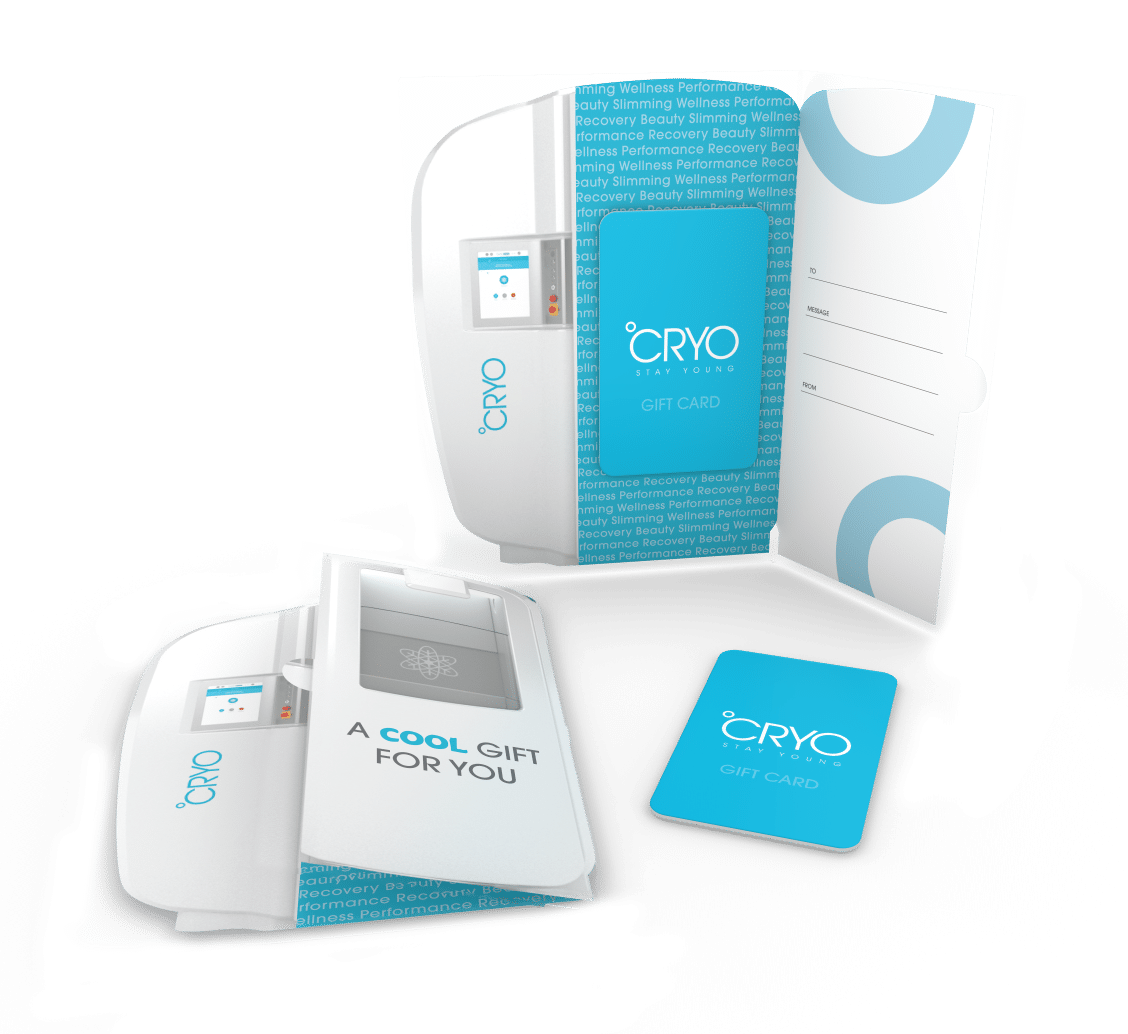 °CRYO Stay Young Cryotherapy Gift Card